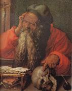 Albrecht Durer St.Jerome in his Cell oil painting picture wholesale